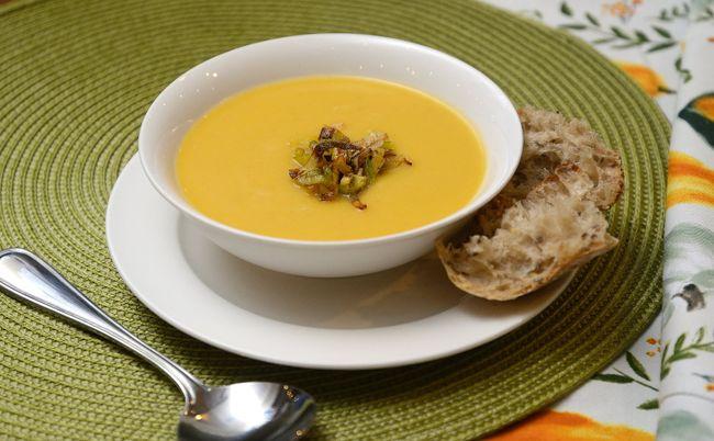 Squash and Leek Soup. (MORRIS LAMONT, The London Free Press)