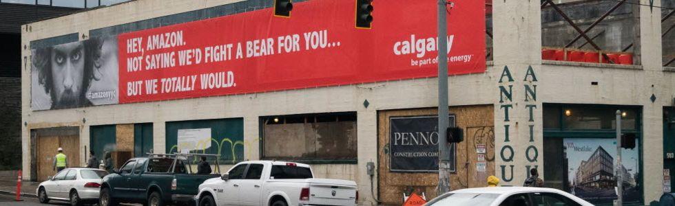 Calgary luring Amazon