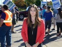 Fanshawe Student Union president Morganna Sampson. (MORRIS LAMONT, The London Free Press)