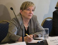 Eileen Gillese, former dean of Western's law school, is leading the public inquiry into the crimes of nursing home serial killer Elizabeth Wettlaufer. (DEREK RUTTAN, The London Free Press)