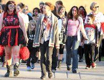Ninth annual Soo Zombie Walk on Saturday, Oct. 21, 2017.