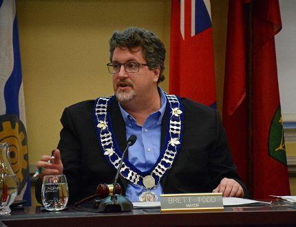 Prescott Mayor Brett Todd. (Postmedia Network)