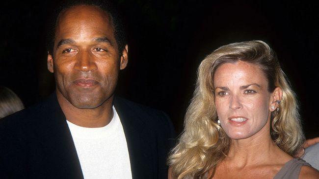 O.J. Simpson and Nicole Brown Simpson. (Radar Photo)