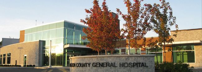 Lennox and Addington County Hospital in Napanee. Postmedia file photo.