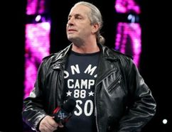 Bret (The Hitman) Hart during a return to World Wrestling Entertainment.
