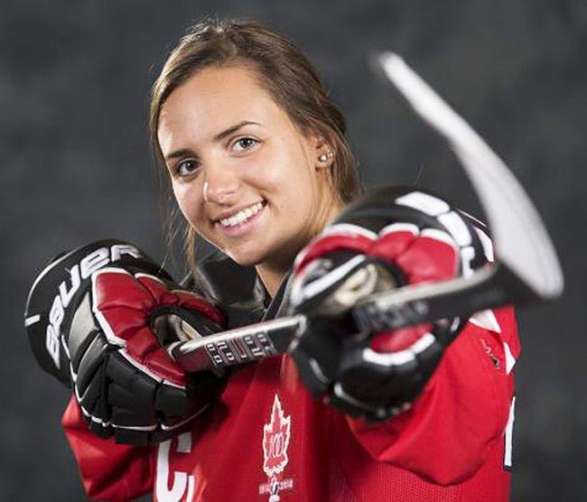 Hanna Bunton (Hockey Canada photo)