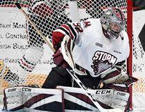 Belleville native and Guelph Storm goalie Anthony Popovich. (OJHL Images)