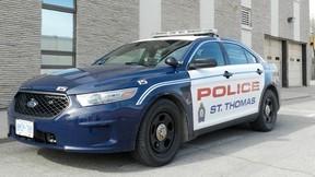 st. thomas police car