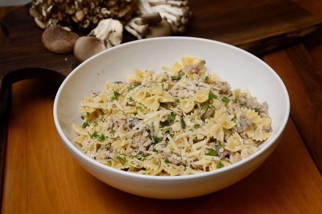 Pasta with Wild Mushrooms. (MORRIS LAMONT, The London Free Press)