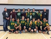 The MUCC senior boys' Comets advanced to regionals.