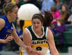 Elle Hendershot and the University of Alberta Pandas meet the first-place Saskatchewan Huskies in Canada West basketball action this weekend.