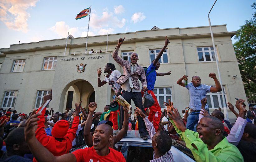 Zimbabwe's President Robert Mugabe resigns amid turmoil