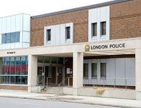 London police headquarters (Free Press file photo)
