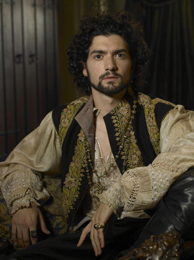 Prodigals stars David Alpay, shown here in The Tudors.