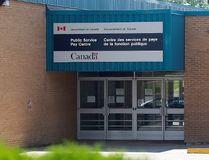 Public Service Pay Centre is shown in Miramichi, N.B. (File photo)