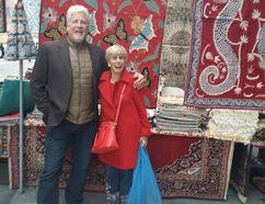 Author Tom Herstad and Bonnie Kogos.