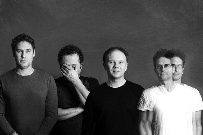 Shaky Stars is a new band featuring Sudbury musicians Dan Levecque, left, Joe Fiorino, Nick Krawczuk and Marc Donato. Supplied photo