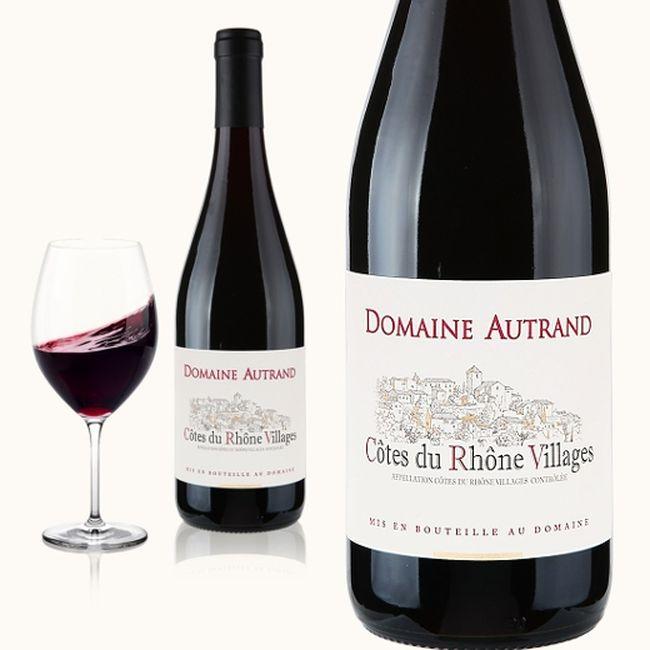 Domaine Autrand 2015 Côtes du Rhône Rouge