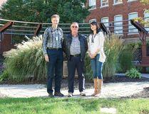 From left: Dr. Verne Glavin, grateful patient Ralph McKenzie and Dr. Jackie Goscimski.