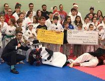 The Minnow Lake Place Taekwondo raised more than $3,400 for the CTV-Lion's Children Christmas Telethon.