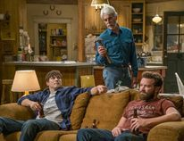 Sam Elliott, Ashton Kutcher, and Danny Masterson in The Ranch. NetflixNetflix / CanoeWP