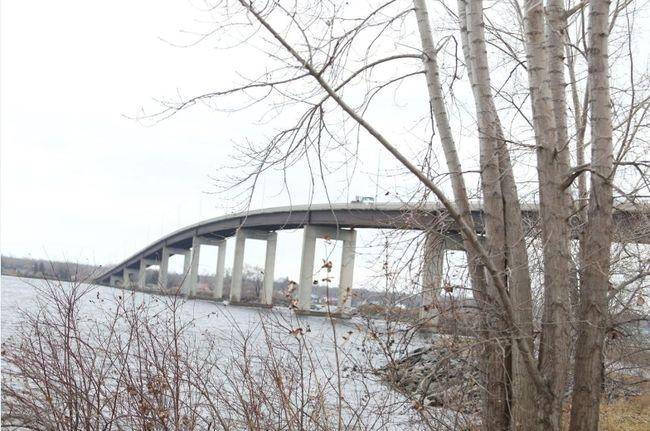 JASON MILLER/The Intellingencer Norris Whitney Bridge is seen here Tuesday.
