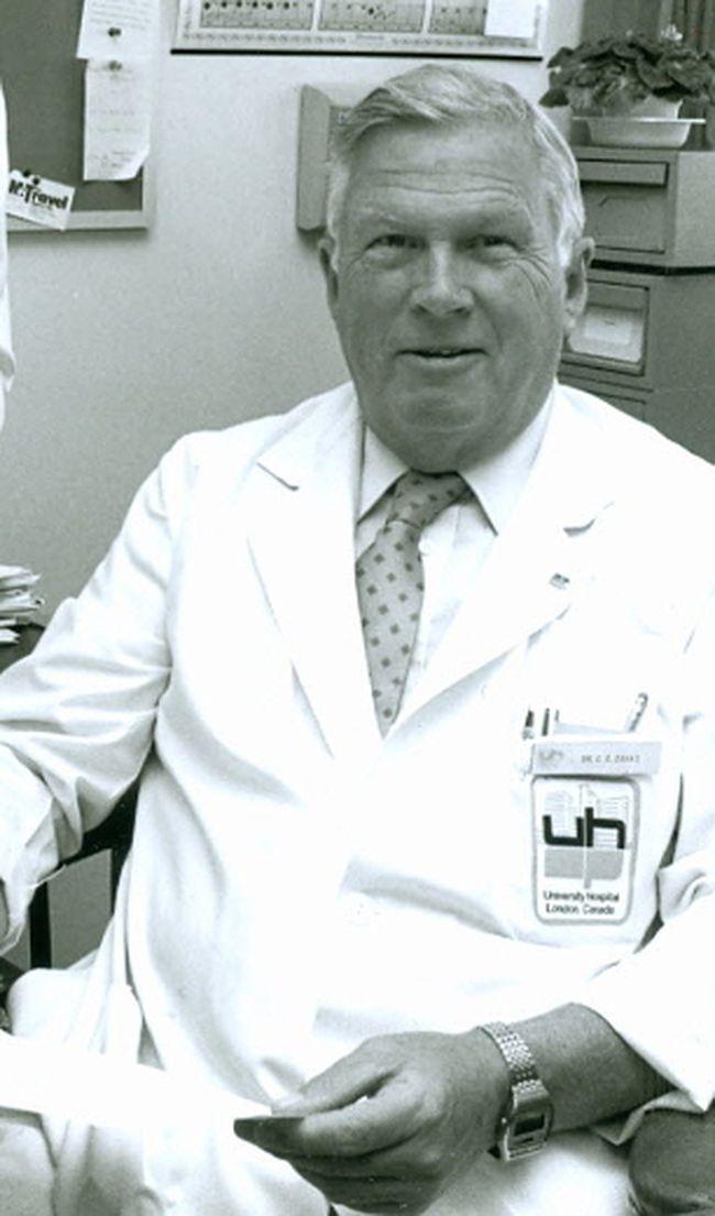 Dr. Charles Drake, 1985. (Free Press file photo)