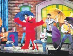 Elmo rocks the party in Sesame Street Live. (Photo courtesy Feld Entertainment)