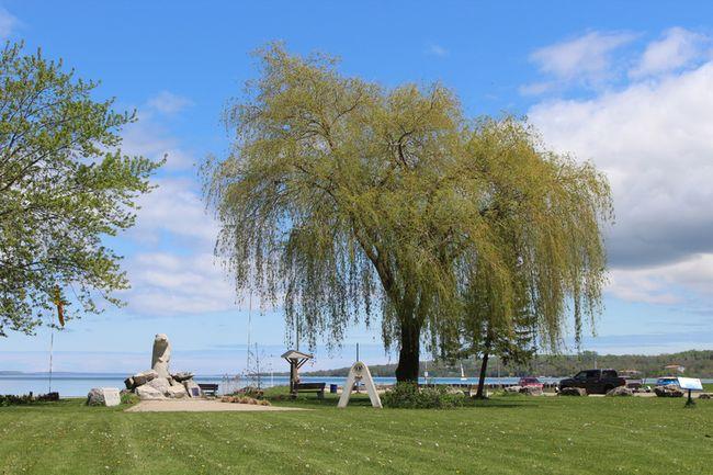 Bluewater Park in Wiarton. Photo by Zoe Kessler/Wiarton Echo
