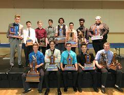 The Ardrossan award winners. Photo supplied