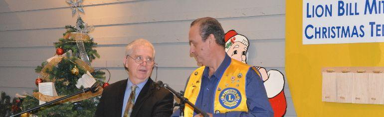 Claude Bourassa and Gary Girard took over duties this year as the Master of Ceremonies.