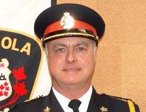 File photo Espanola's Police Chief Steve Edwards.