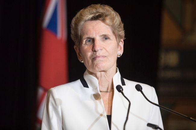 Ontario Premier Kathleen Wynne. (Canadian Press)