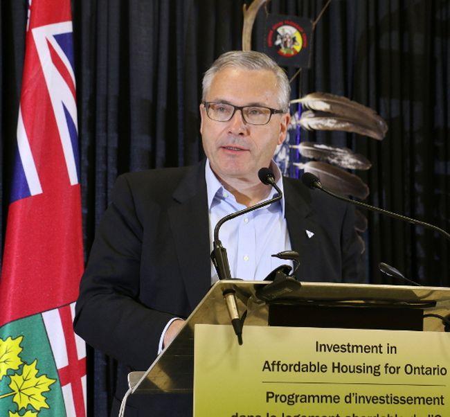 Ontario Housing Minister Chris Ballard. Len Gillis/Postmedia Network