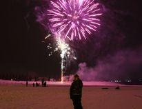 Fireworks will be launched over Cranna Lake Dec. 22 at 8 p.m. (Ashli Barrett/Lacombe Globe)