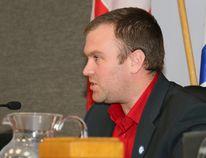 Timmins Mayor Steve Black at city council