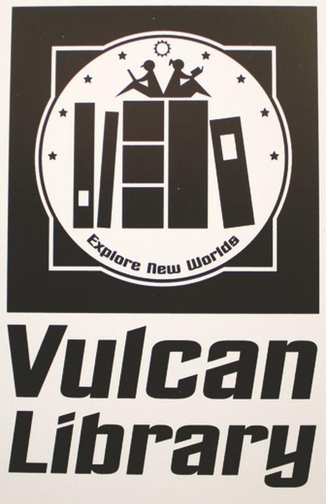 The Vulcan Municipal Library's new logo. Graphic provided by the Vulcan Municipal Library