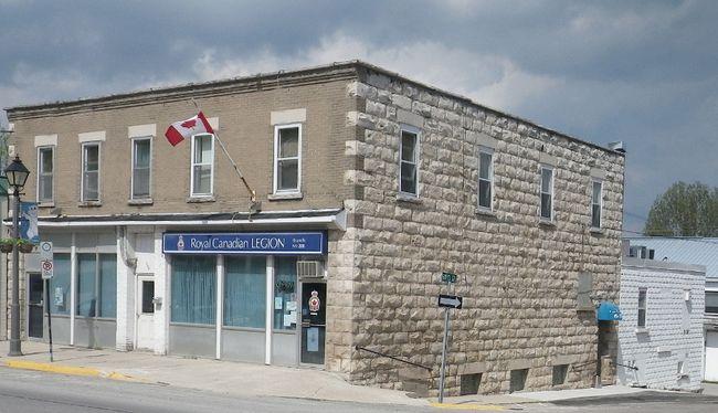 Royal Canadian Legion Branch 208 Wiarton. Photo by Zoe Kessler/Wiarton Echo