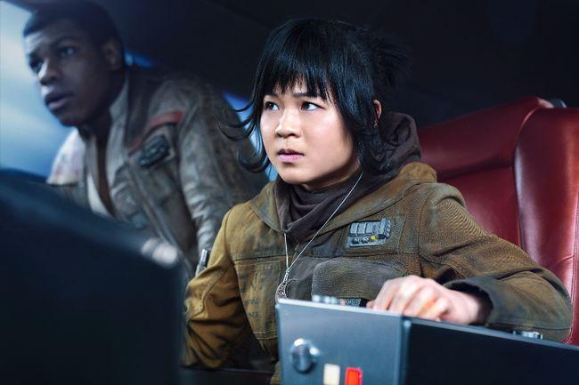 Kelly Marie Tran as Rose in Star Wars: The Last Jedi