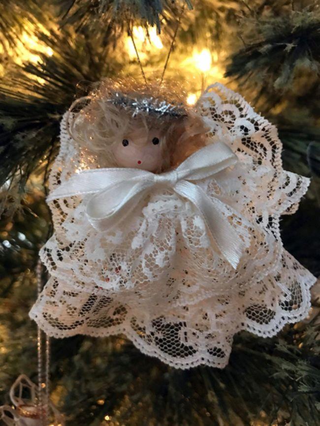 Pauline Clark/Special to The StarAn angel ornament on Pauline Clark's Christmas tree.