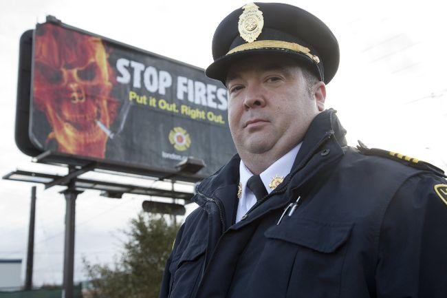 Deputy fire chief Jack Burt (Free Press file photo)