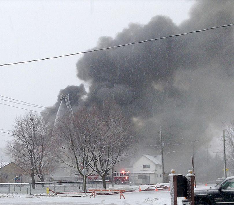 Weekend Fire Now Arson Investigation