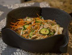 Asian Turkey Salad. (DEREK RUTTAN, The London Free Press)