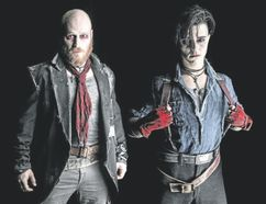 The Donnelly boys in Catalyst Theatre's rock musical Vigilante.