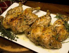 Roast Herbed Chicken. (MIKE HENSEN, The London Free Press)