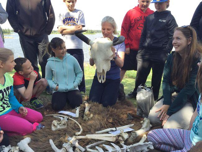 Federal Environment Minister Catherine McKenna visited Elk Island National Park in June.