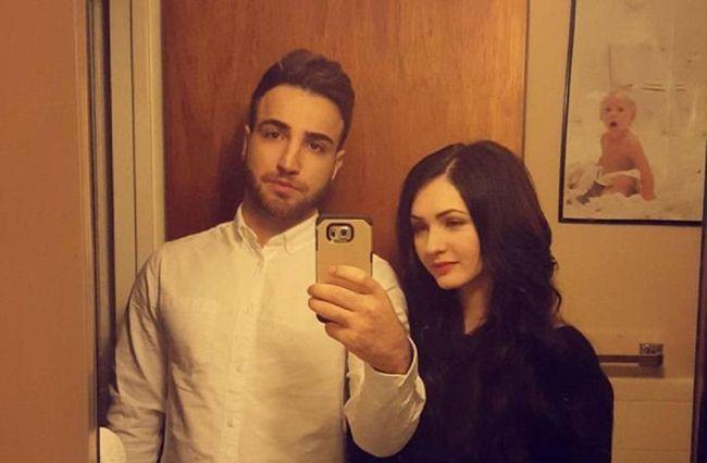 Ager Hasan, left, and Melinda Vasilije. (REDDIT)