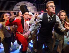 Matt DeKort, centre, plays Edward Bloom in the Original Kids production of Big Fish. (MORRIS LAMONT, The London Free Press)