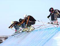 The third annual Sunridge Ski Cross Challenge runs Friday through Sunday. Photo supplied