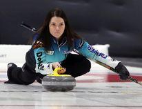 Kerri Einarson competes at the 2018 Scotties Tournament of Hearts. (Brook Jones/Selkirk Journal/Postmedia Network)